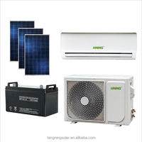 100% off grid solar powered air conditioner 48V