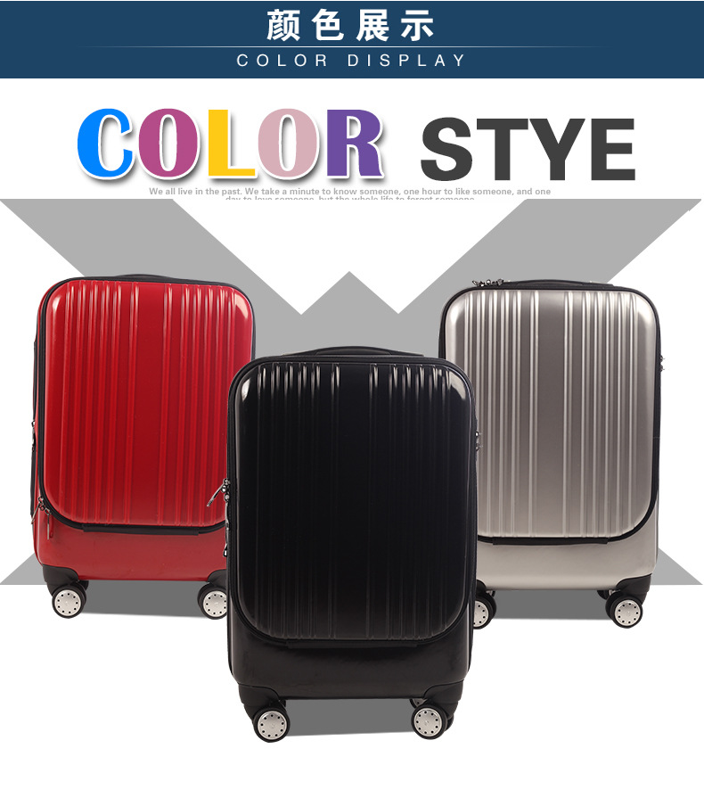 Hot selling zipper luggage