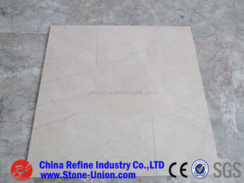 Polished China Mary Beige Marble Tiles For Sale