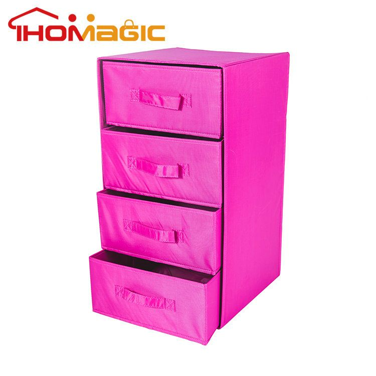 2016 wholesale hot sale canvas drawer organizer