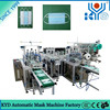 Disposable Nonwoven Fully Automated Medical Face