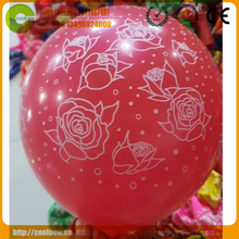 12 Inch 2.8g standard fuschia color birthday festival party heart shape natural shaped latex balloons for sale