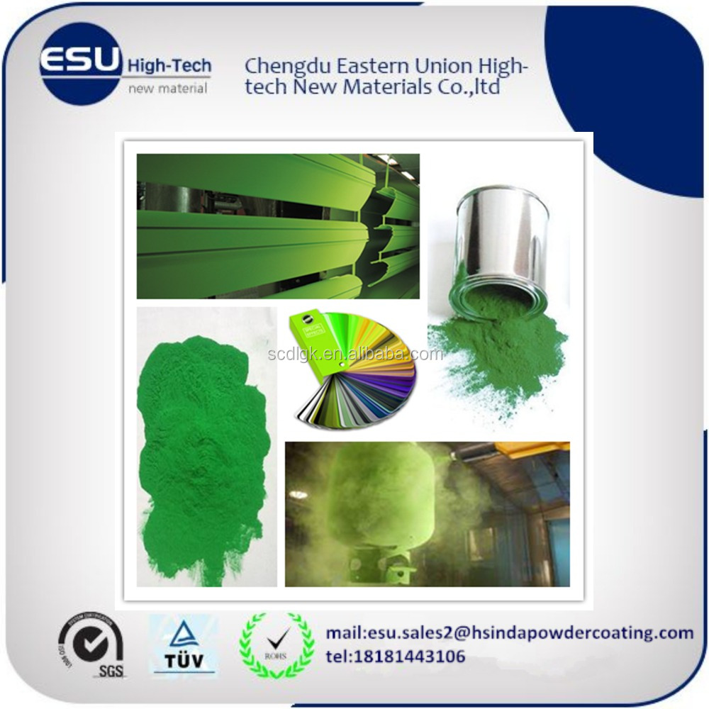 color green epoxy spray salt water resistant epoxy polyester powder coating paints
