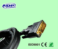 Hot sale Gold planted VGA Cable,rs232 to vga adapter