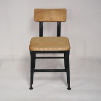 Heavy-duty Solid Wood Chair with Steel Frame