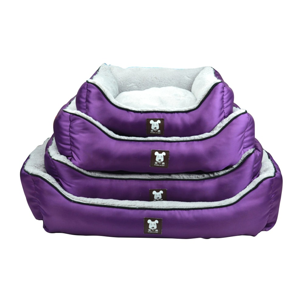 Custom Wholesale High Quality Soft Pet Products Luxury Waterproof No Slip Beds Dog Bed
