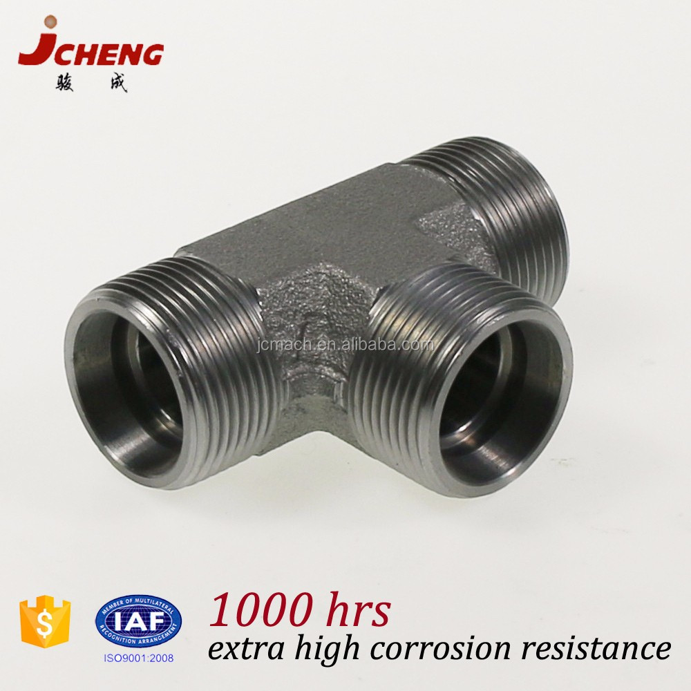 12 inch pvc pipe fitting Heavy duty S type DIN2353(ISO8434) union tee brass stainless steel pipe fitting