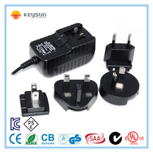 5V 1000mA 5W dc interchangeable power supply