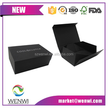 new style professional design flat folding gift box ,folding cardboard luxury gift box