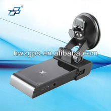 Car gps radar detector with alarm of both fixed speeding camera and mobile radar in advance