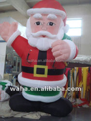 inflatable Christmas decoration statue for plaza decoration