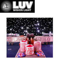 Flaxible led curtain for wedding/led wedding curtain/wedding stage backdrop
