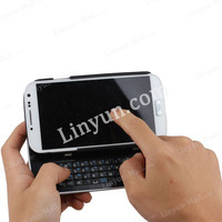 black and white color high quality Bluetooth keyboard Case For Samsung S4 i9500