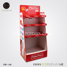 Commercial cups point of sale display units for sandwich bread toast plate
