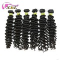 Full cuticle best quality unprocessed brazilian virgin remy hair weft deep wave