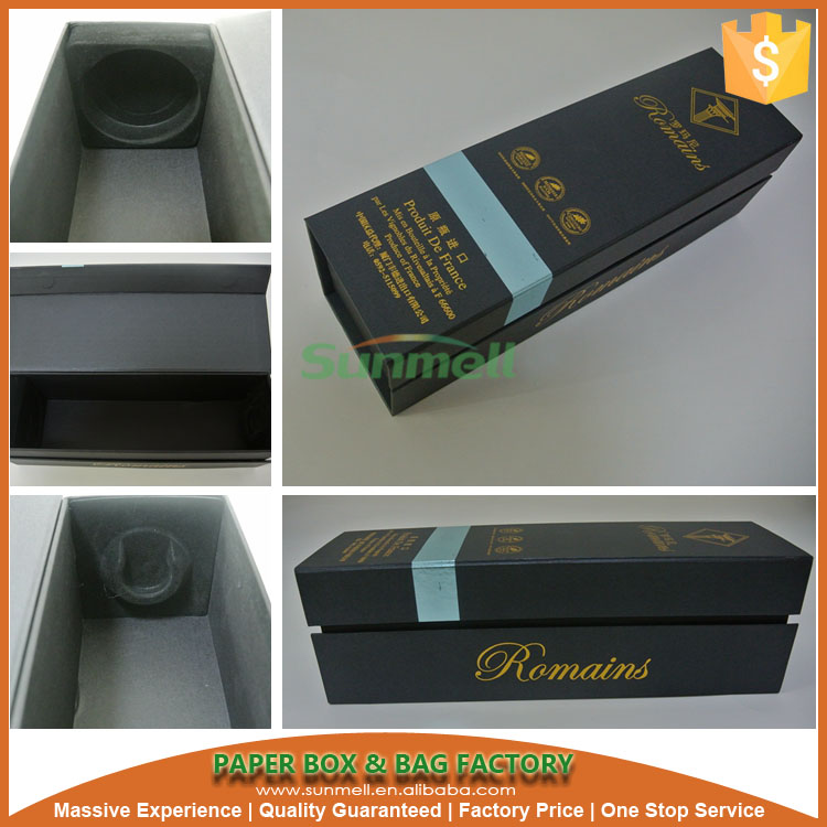 customized blue 3 litre wine box