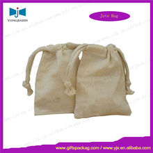 Customized Coarse linen pouch