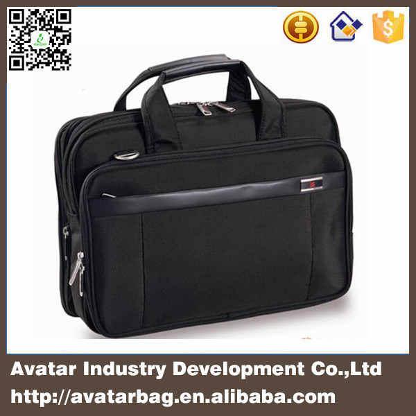 17 inch multilayer fashional business laptop bag