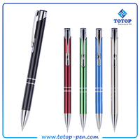 Hot stamping parker ink refill metal ball pen