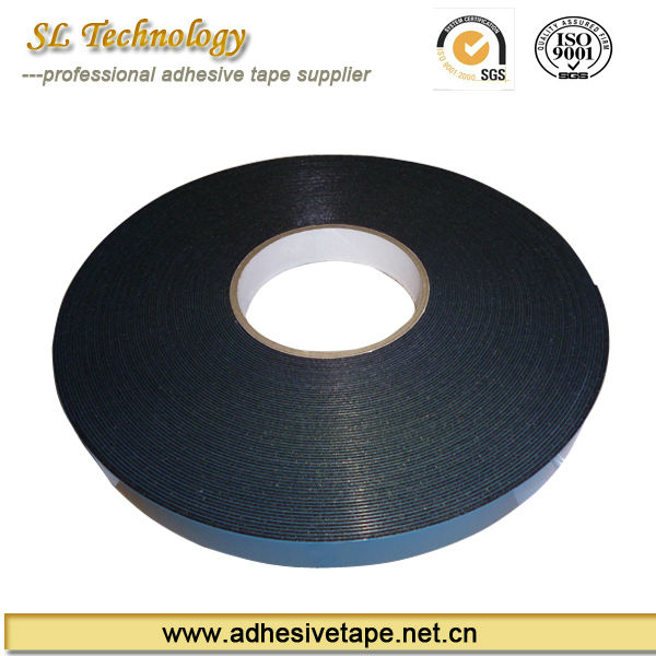 2 mm blue realese film double sided PE foam tape