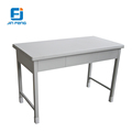Metal table library reading studing steel desk D021