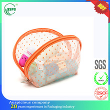 Korean girls lovely reusable makeup train travelling bag case