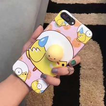 Silicone silica gel Creative cute 3D mickey shape phone case for iPhone 6/7