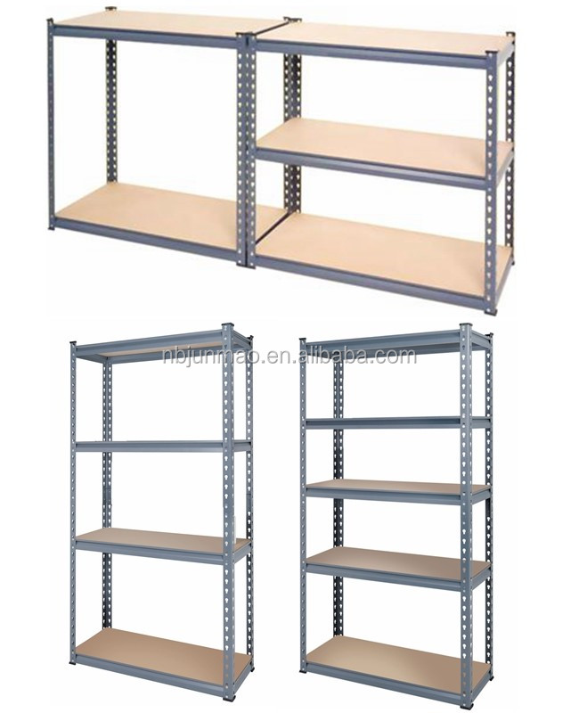 High Quality 5 Tier Metal Book Shelf Used For Room / Study Room
