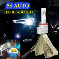 2016 latest new led 5S car headlights super bright H8/H11 led headlight kit h4 car led headlight