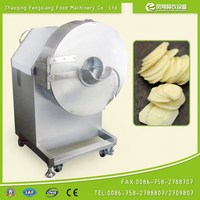 FC-582 cmmercial potato chips cutting machine, sweet potato chips cutter vegetable cutter with 304 stainless steel