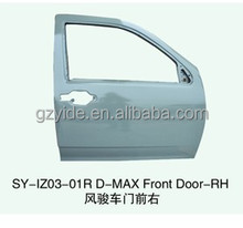 hot sell Car Front Door rh Replace for ISUZU D-MAX Auto Body Parts