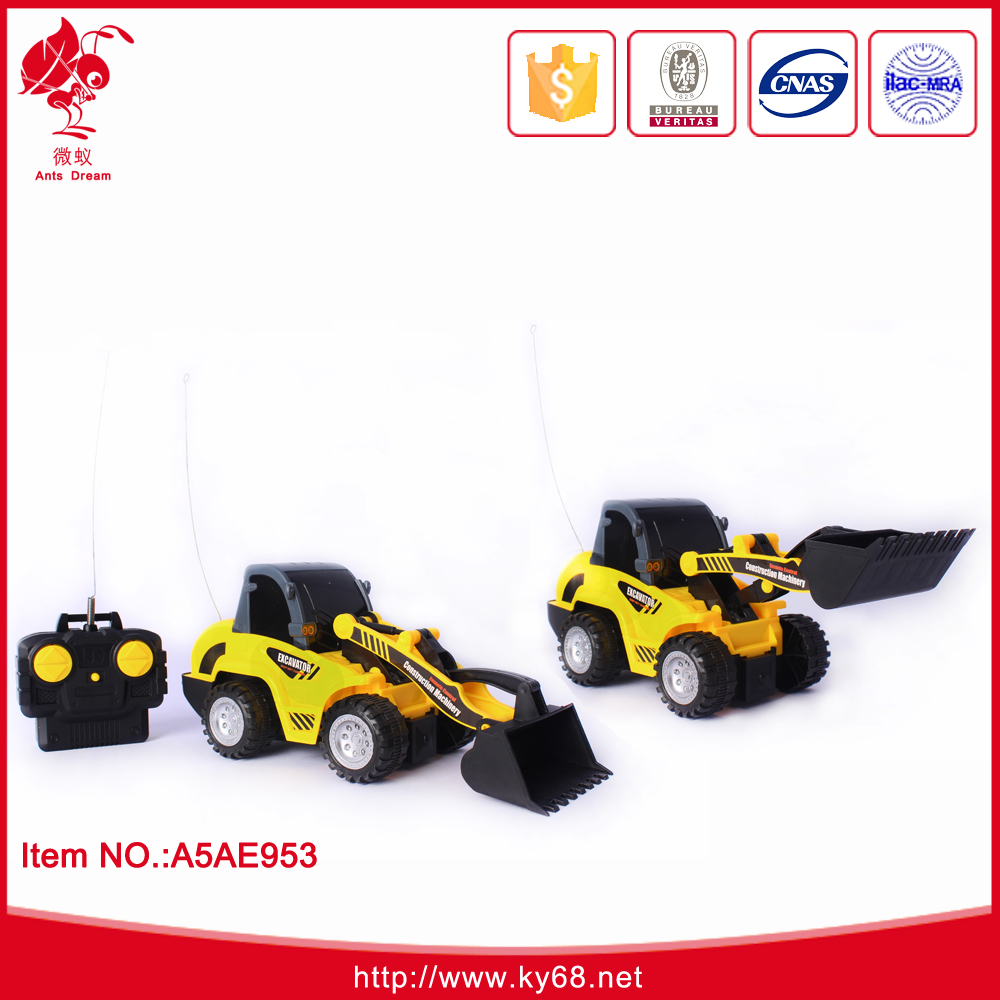 Remote control excavator in remote controlled radio control toy tipper truck car toys for kids