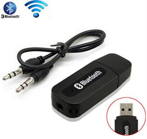Bluetooth 3.5mm Streaming Home Car A2DP Wireless AUX Audio Music Receiver Adapter for Home Car Speaker