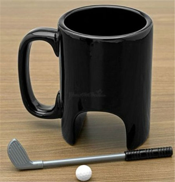 CT-574 New creative wonderful design Golf cup office pastime personality mugs