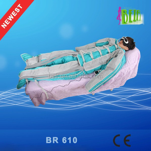 24 air bags pressotherapy age-related illnesses improvement