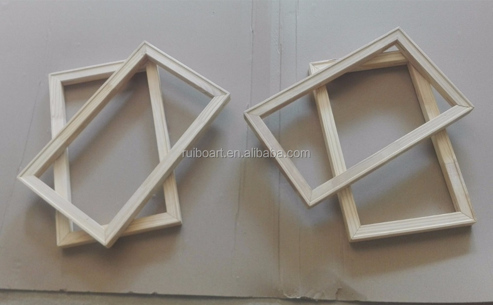 high quality fir and pine wood frame canvas stretcher bar
