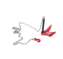 GPM SCALE ACCESSORIES: GROUND ANCHOR CHAIN HOOK COMBO FOR CRAWLERS -1PC SET RC CAR UPGRADE ACCESSORIES TRAXXAS TRX4