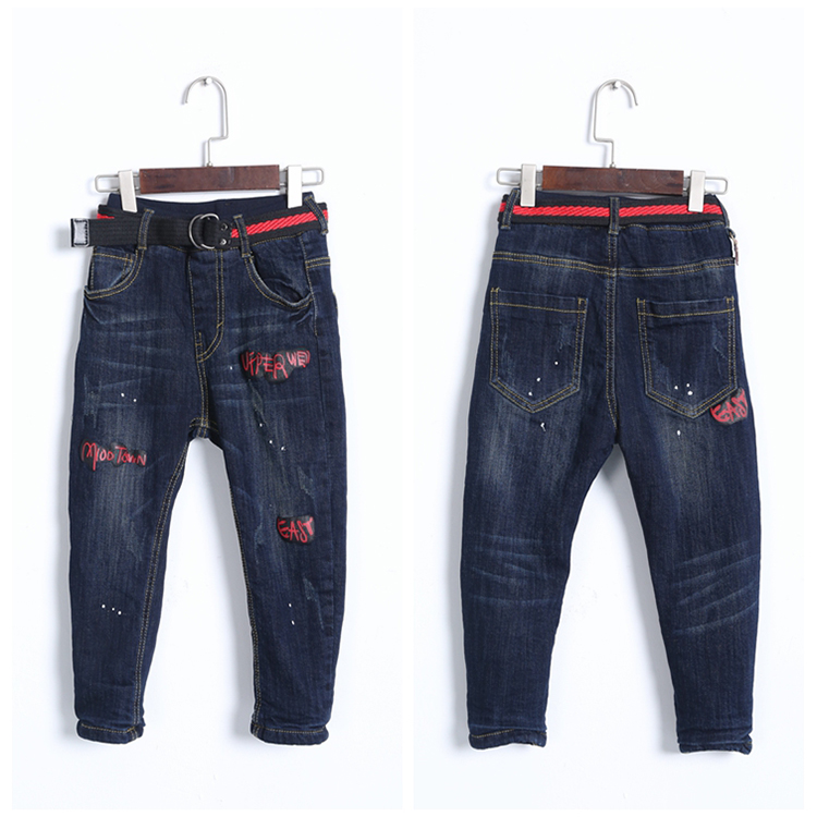 Italian Factory Price Boys Slim Jeans Jogger Jeans For Boys