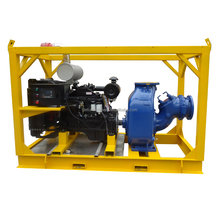 Movable Type of Self Priming Diesel Engine dewatering Pump