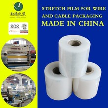 23 micron clear cast pe stretch film, stretch Foil, thickness pallet strech wrap film