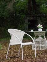 folding metal bistro chair