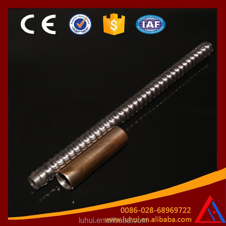 LUHUI R32 slope support self drilling rock soil hollow screw bolt