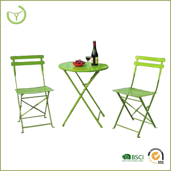 2016 Metal craft table and chairs/outdoor wrought iron furniture set