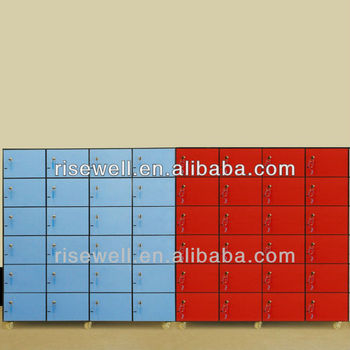blue red solid phenolic compact laminate hpl abs locker