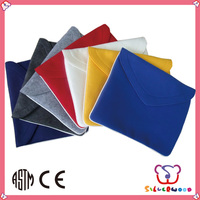 GSV ICTI Factory eco polyester fashion design laptop sleeves for air