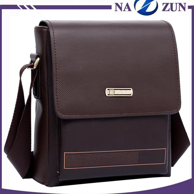 Latest Wholesale Stylish Eco-friendly Cheap PU Leather Men Bag Famous Brand Korean Messenger Bag for Men