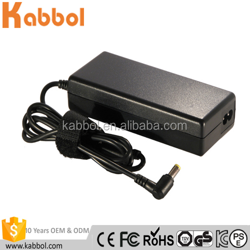 Replacement Laptop AC DC Power Charger Adaptor 90W 19V 4.74A 5.5x2.5mm For Toshiba Satellite A300 A300D L300 L350D Pro A210