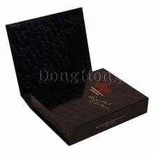Custom printing book shape rigid cardboard cigarette box