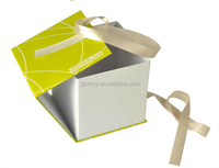 custom logo folding box with magnet closure for gift packaging