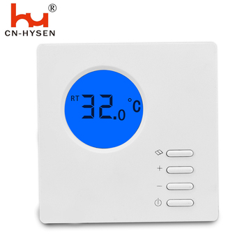 Very simple non programmable digital room heating  thermostat to save electrical bill